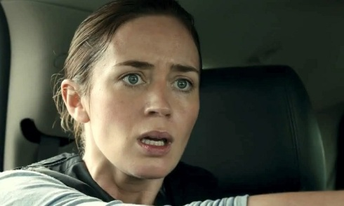 See this look of bewilderment on Emily Blunt's face? Prepare to see this often in Denis Villeneuve's Sicario.